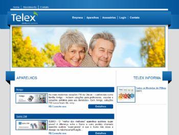 Exemplo de página de listagem de produtos.