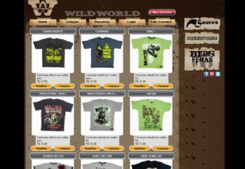 Loja virtual - listagem de produtos.