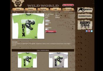 Loja virtual - detalhes do produtos.