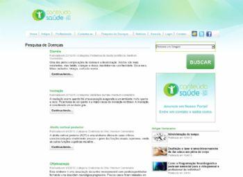 Página de listagem de máterias sobre doenças.