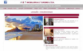 Exemplo de página de escolha da região/prédio.