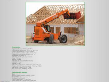 Exemplo de parte da página de detalhes do equipamento.