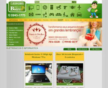 Exemplo de página de listagem de anúncios.
