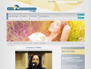 Exemplo de página de exibição de vídeos.