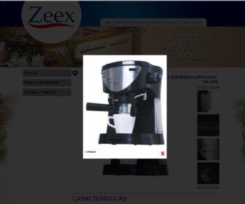 Exemplo de ampliação de imagem dos produtos.
