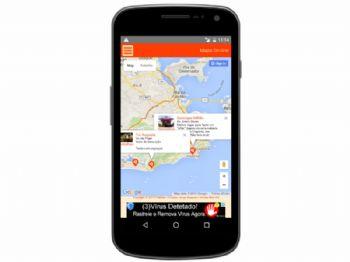 Integração com Google Maps com marcadores dos estabelecimentos cadastrados.