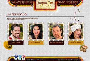 Página dos integrantes da empresa.