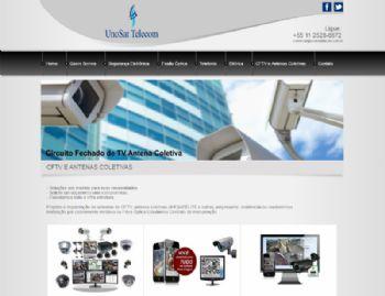 Exemplo da página de detalhes dos serviços disponíveis.