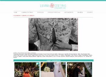 Exemplo da página de detalhes do álbum de fotos.