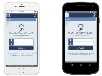 Tela inicial do aplicativo para login de usuário.