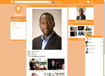 Exemplo de página de detalhes do usuário.