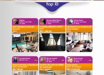 Exemplo da página de listagem de anúncios.