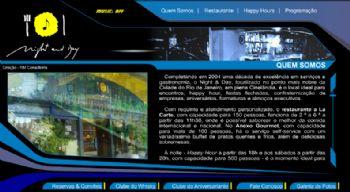 Exemplo de tela de conteúdo.