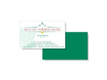 Cartão de visita.