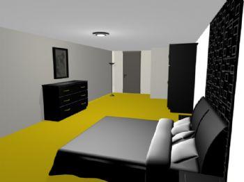 Quarto - apartamento 01.