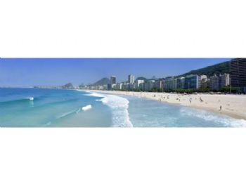 Praia de Copacabana - vista do Leme.