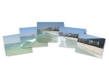 Praia de Copacabana - fotos originais.