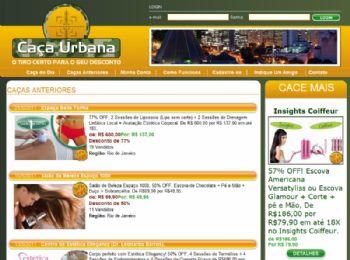 Página com as promoções anteriores.
