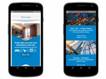 Exemplo da página inicial - versão mobile / responsive - continuação.