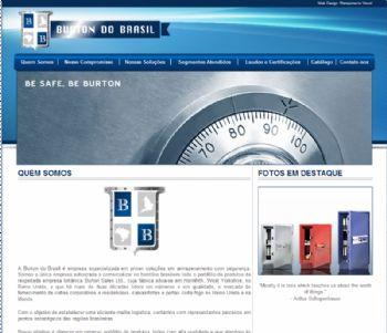 Página de entrada do site.