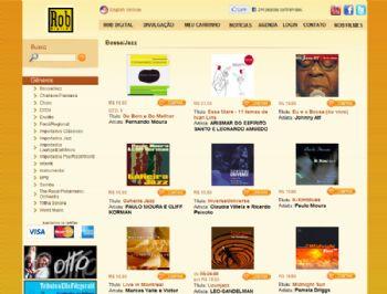 Página de listagem de produtos.