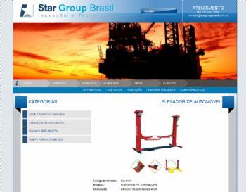 Página de detalhes do produto.