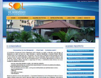 Página de conteúdo institucional.