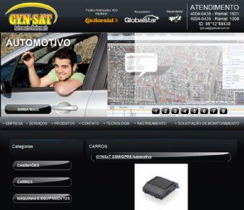 Página de listagem de produtos por categorias.
