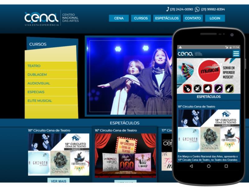 CENA - Site 3.0